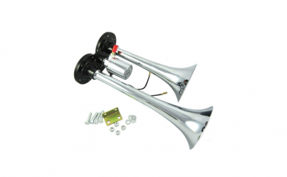 Claxon Trompeta dubla 2 pipe Universal