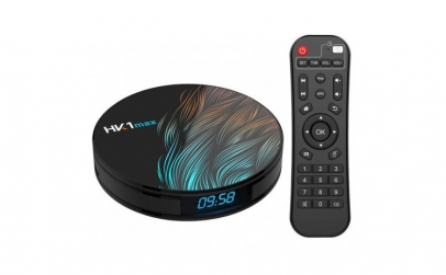 TV Box HK1 Max RK3318 2.4GHz Android