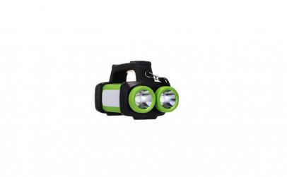 Lanterna dubla HX-8802A , 1W, portabila