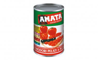 Rosii decojite cuburi AMATA - 400 gr