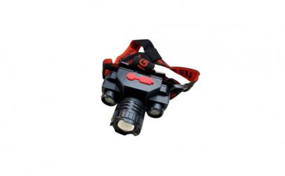 Lanterna de cap KX-1805, 3 faze