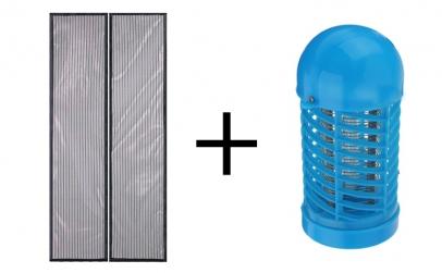 Plasa magnetica + Lampa UV