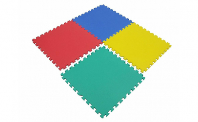 Covor puzzle 120 x 120 cm
