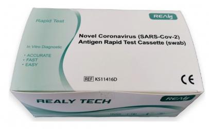 Test Rapid COVID-19 Antigen (set 25 buc)