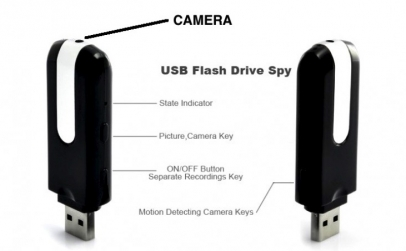 Stick cu camera spion HD