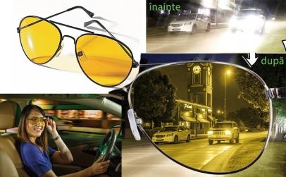 Ochelari polarizati de condus+toc