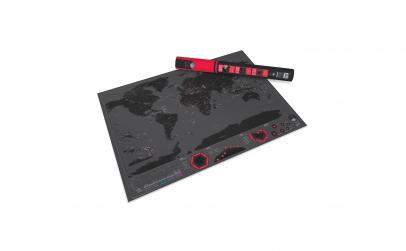 Harta razuibila - capitalele lumii, XL