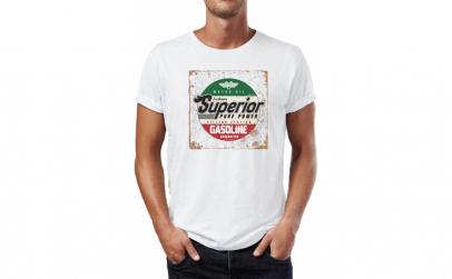 Tricou barbati Superior Gasoline,