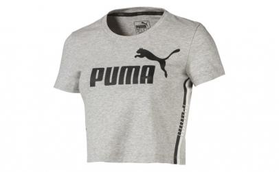 Tricou femei Puma Tape Logo Croped