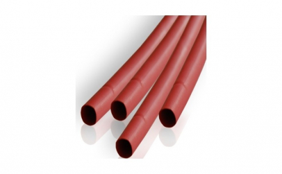 Tub rosu varnis termocontractabil