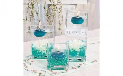 Bilute decorative cu gel, culori cristal