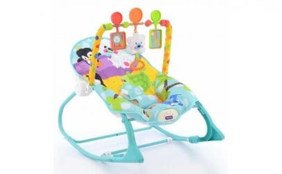 Balansoar bebelusi cu jucarii