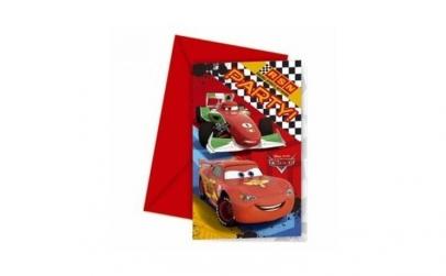 Invitatii pentru petrecere Cars