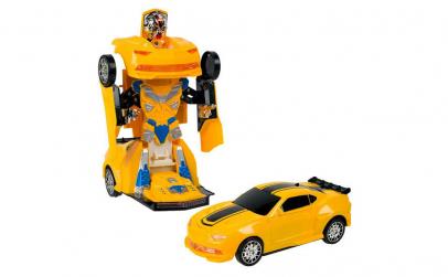 Masinuta robot Bump & Go