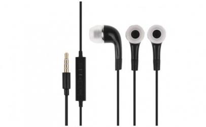 Casti Handsfree In-Ear negru stereo
