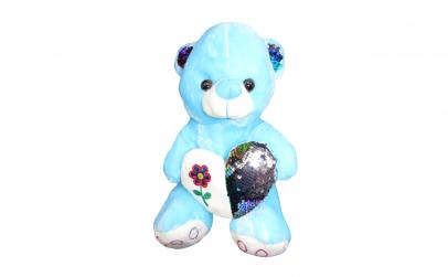 Ursulet plus bleu, cu inimoara