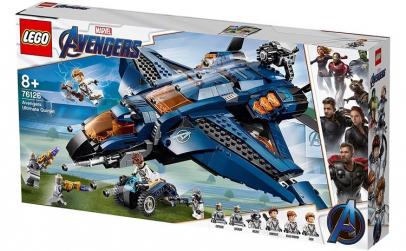 LEGO SUPER HEROES QUINJETUL SUPREM AL