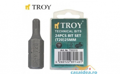 Set de biti Torx (T 20 x 25 mm)  24