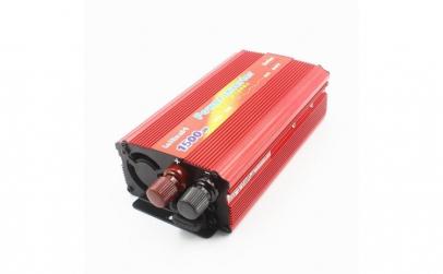 Invertor tensiune 12V-220V, putere 1500
