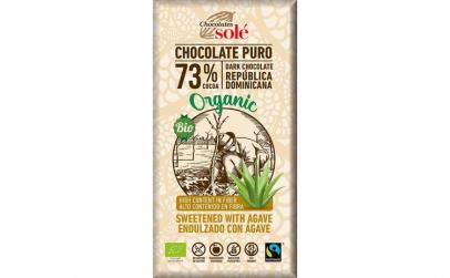 Ciocolata neagra BIO cu sirop de Agave,