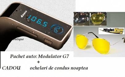 Modulator FM HandsFree + ochelari condus