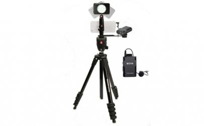 Kit pentru Fitness Vlog LED8 Wireless,