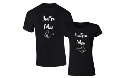 """Set tricouri """"Iubita mea/ Iubitul meu''"""