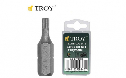 Set de biti Torx (T 15 x 25 mm)  24