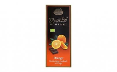 Ciocolata amaruie cu portocale, 55%