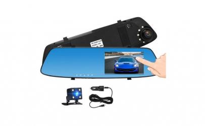 Oglinda Camera Video Auto Dubla