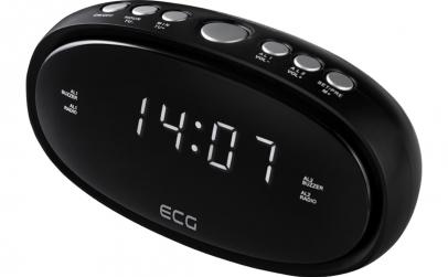 Radio cu ceas ECG RB 010 negru
