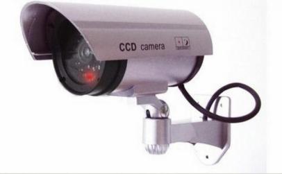 2 x Camera supraveghere falsa