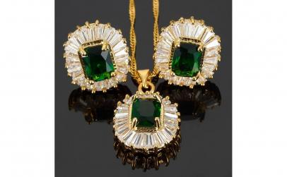 Set bijuterii Glamour Emerald