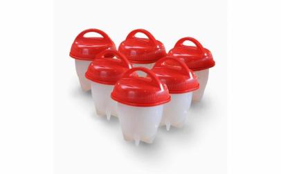 Set 6 forme din silicon + feliator oua