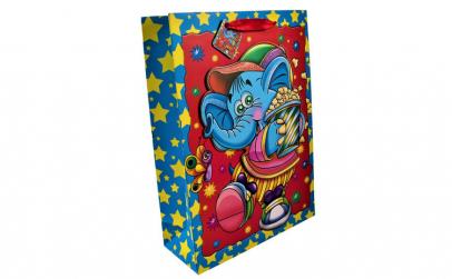 Punga cadou 3D, Maxx, elefant,