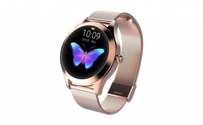 Ceas Smartwatch Kingwear KW10 Gold,