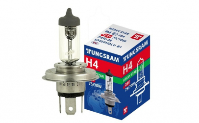 Bec auto Tungsram H4 24V 75/70W P43T