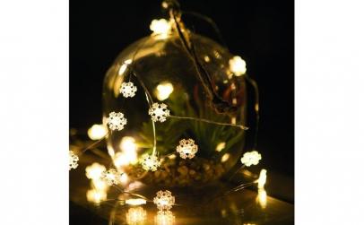 Sir de lumini LED - 20 LED - 2m - alb