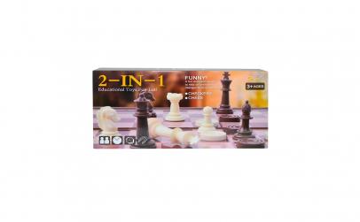 Joc magnetic 2 In 1: Sah + Table