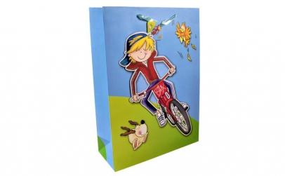 Punga cadou 3D, Maxx, biciclist,
