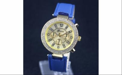 Ceas Dama Geneva Blue Date