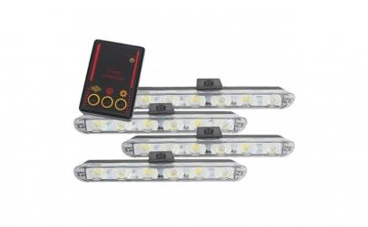 Set 4x6 Lumini LED Tip Stroboscop De