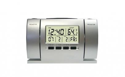 Ceas cu proiectie ora si temperatura