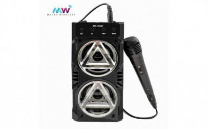 Boxa portabila bluetooth KTS, Karaoke