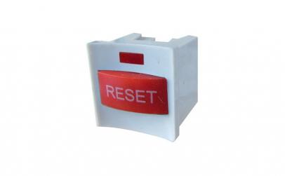 Buton reset, cu led, cu retinere,