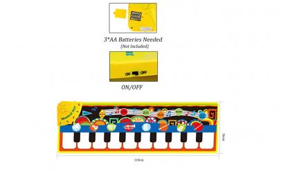 Covoras muzical cu pian 4 in 1