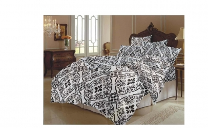 Lenjerie de pat (bumbac 100%) 2 persoane