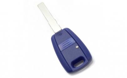 Fiat Carcasa cheie 1 buton  albastru  cu