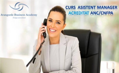 Asistent Manager - curs acreditat ANC