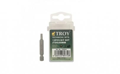 Set de biti torx Cr-V Troy T22241, T20,